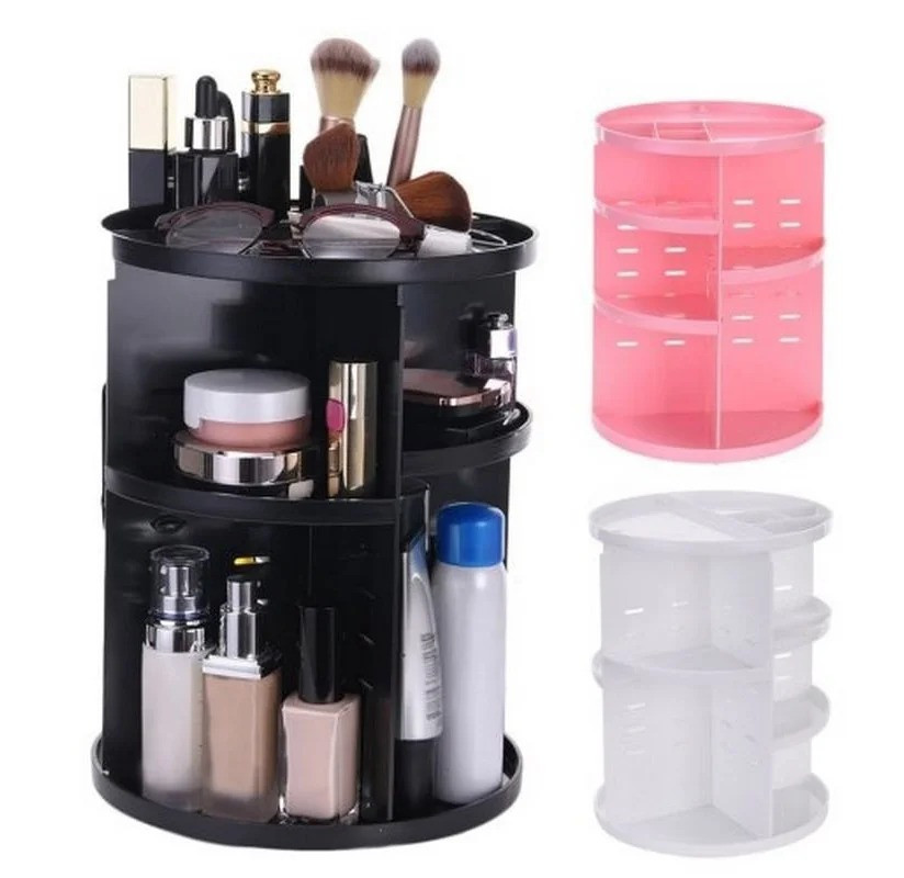 Органайзер для косметики + Подарок / Rotation Cosmetic Box 360