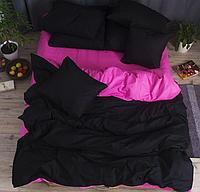 """Семейное постельное белье евро-размер с двумя пододеяльниками (15195) хлопок """"Ранфорс"""" KRISPOL Украина"""