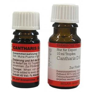 Капли Кантарис Cantharis D6. Шпанская мушка.