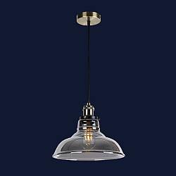 Підвісний скляний світильник колір чорний Levistella&748PD0012-1 BLACK