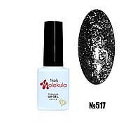 Гель-лак diamant gel №517 (чорний) 6мл