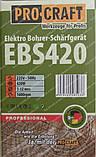 Верстат для заточування свердел Procraft EBS420 (свердла 3-12 мм), фото 3