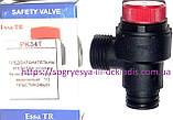 Предохранительный клапан 3 бар (клапан безопасности, под клипсу, латунный или пластиковый) 39818270 Ferroli, фото 2