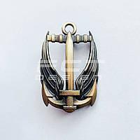 Кокарда, Беретный знак морской пехоты ВМС латунный