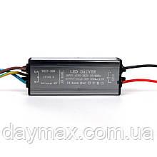 Драйвер для уличного светильника 30 Вт IN:85-265 В, OUT:25-36 В 900 мА IP65