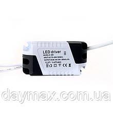 Драйвер для LED панелей 8-18W Input: AC 175-265 В Output:DC 36-48 В