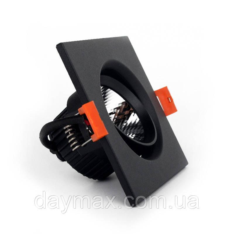 LED Светильник потолочный Черный 5 Вт угол поворота 45° 4100К