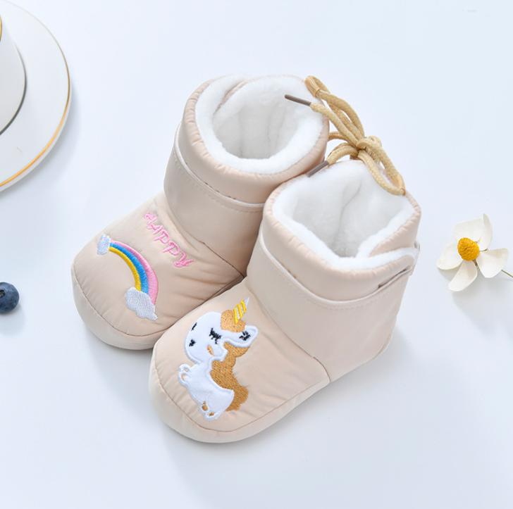 Пінетки зимові для малюків пинетки зимние для малишей бежеві 12