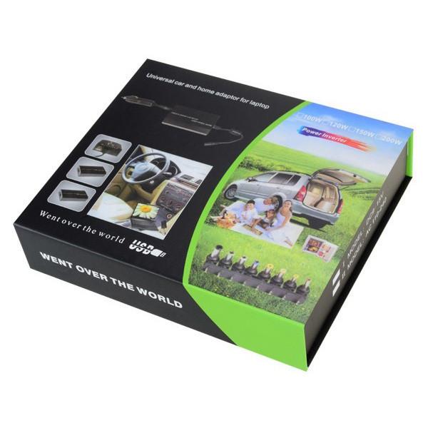 Универсальное зарядное устройство для ноутбуков Went over the world, блок питания для ноута, автомобильное