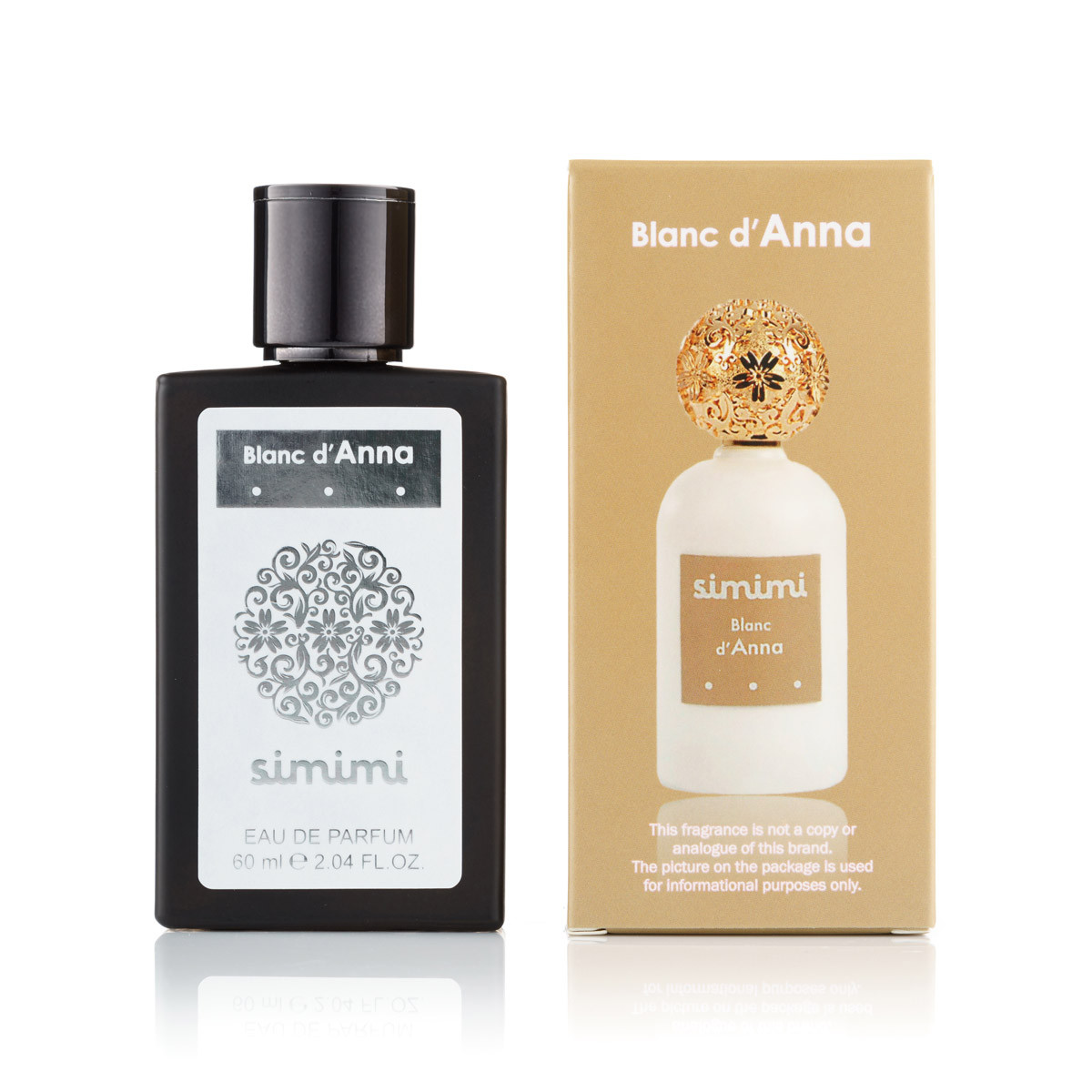 60 мл міні-парфуми Blanc d Anna Simimi (Ж)