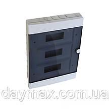 Бокс пластиковый модульный для внутренней установки на 36 модулей IP20