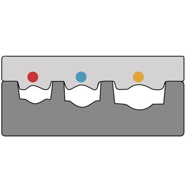 Насадка для обжимных клещей (1-10мм2) к 210764 Haupa