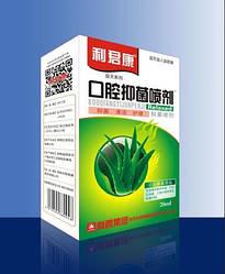 Спрей для порожнини рота антибактеріальний 20мл Алое (чисте дихання)