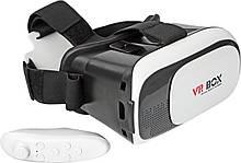 Очки виртуальной реальности VR BOX для смартфона + пульт, 3D очки, видео-очки, гаджеты виртуальной реальности