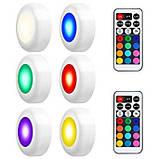 Изменяющие цвет беспроводные светодиодные светильники Magic Lights (комплект из 3х штук), подсветка для дома/, фото 2