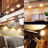 Изменяющие цвет беспроводные светодиодные светильники Magic Lights (комплект из 3х штук), подсветка для дома/, фото 5