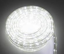Светодиодная гирлянда дюралайт, уличная, LED (белый свет), 8 метров, (доставка по Украине), Гирлянды
