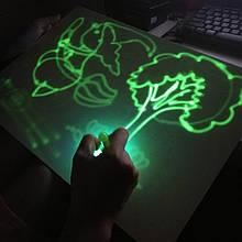 Набор для рисования в темноте, Рисуй светом, (PC-A4-17), набор для творчества, Наборы для рисования, пеналы