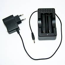 Зарядное устройство для аккумуляторов 18650 на 2 слота - MTLC-0420-0650 - зарядка, зарядник, Зарядные