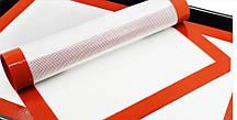 Силіконовий килимок для випічки армований 42*29,5 см