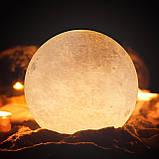 Настольный светильник ночник Луна, Лампа 3D Moon Lamp, 3D светильник, Светильники для дома , фото 7