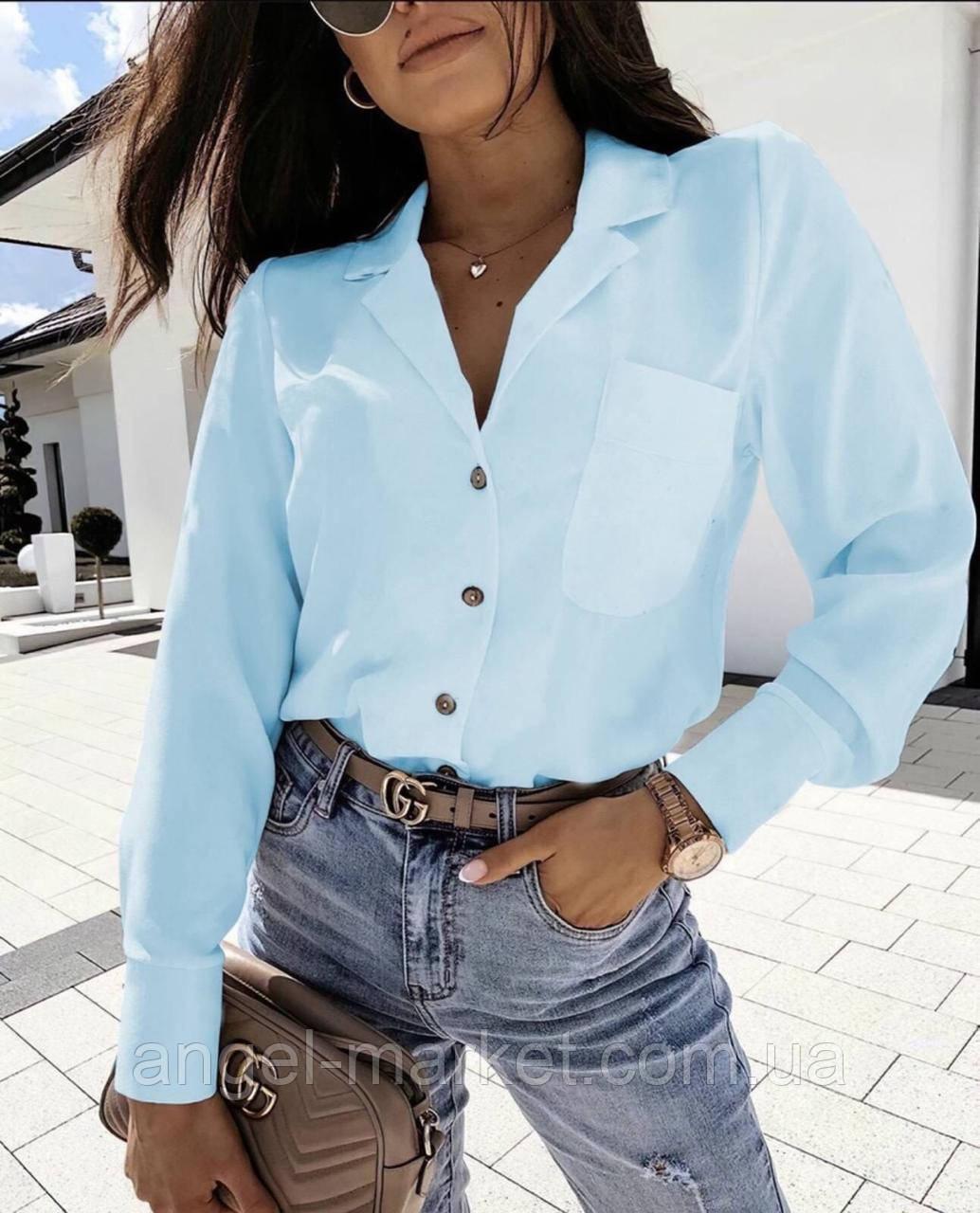 Блуза жіноча,красива блузка, в кольорах (норма і ботал)Новинка 2020