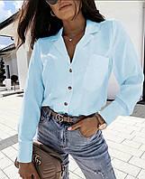 Блуза жіноча,красива блузка, в кольорах (норма і ботал)Новинка 2020, фото 1