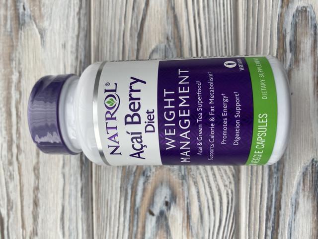 Natrol Acai Berry Diet, 60 капсул для похудения