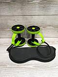 Фитнес колесо Revoflex Xtreme, Универсальный тренажер для пресса и всего тела, рук, ягодиц, Силовой тренажер/, фото 7