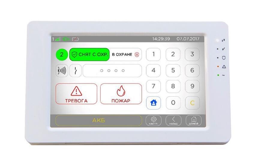 Линд-15 (клавиатура с цветным сенсорным дисплеем)