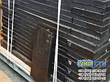 Техпластина (ЛОПАТУ) на Відвал / Скребки гумові для снігоприбиральної техніки 500х500х40мм, фото 3
