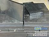 Техпластина (ЛОПАТУ) на Відвал / Скребки гумові для снігоприбиральної техніки 500х500х40мм, фото 5