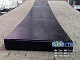 Техпластина (ЛОПАТУ) на Відвал / Скребки гумові для снігоприбиральної техніки 500х500х40мм, фото 6