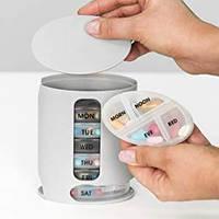 Органайзер для хранения таблеток на 7 дней Pill Pro, дозатор для зубной пасты touch n brush тач н браш, где