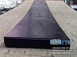Техпластина (ЛОПАТУ) на Відвал / Скребки гумові для снігоприбиральної техніки 250х1000х40мм, фото 6