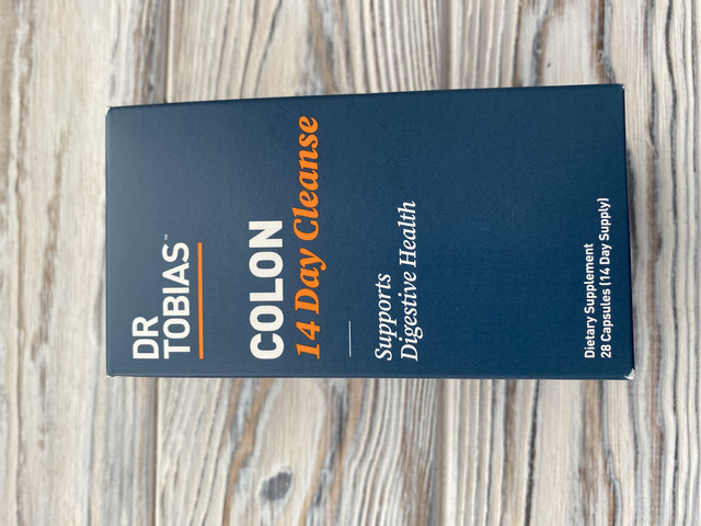 Dr Tobias Colon 14-дневное быстрое очищение - поддерживает детоксикацию и повышает уровень энергии (28 капсул)