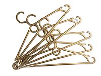 Плічка з кільцем у золотому кольорі виробник Marc-Th / 10 шт. комплект