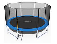 """Батут спортивный игровой FUNFIT с защитной сеткой и лестницей 12"""" 435 см"""