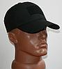 Тактическая кепка-бейсболка шестиклинка черный с патчем, фото 10