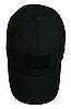Тактическая кепка-бейсболка шестиклинка черный с патчем, фото 5