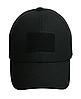 Тактическая кепка-бейсболка шестиклинка черный с патчем, фото 4