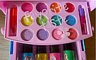 Набор детской косметики для макияжа и маникюра в шкатулке, фото 7