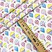 """Польская хлопковая ткань """"Воздушные шары разноцветные на белом"""", фото 3"""