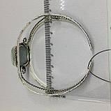 Ларимар браслет с ларимаром браслет-манжет с камнем ларимар (Доминикана) в серебре., фото 6