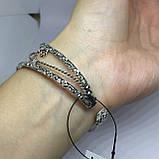 Ларимар браслет с ларимаром браслет-манжет с камнем ларимар (Доминикана) в серебре., фото 4
