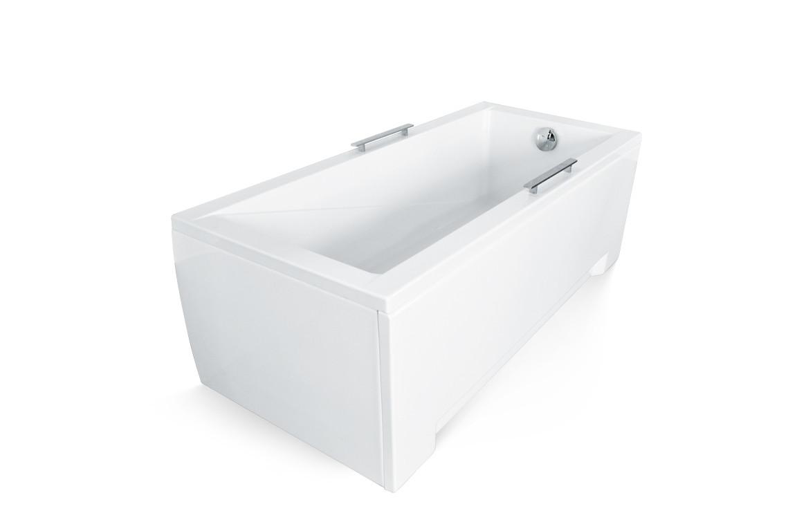 Акриловая ванна MODERN 160х70 Slim Besco PMD Piramida прямоугольная