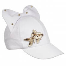 Дитяча кепка для дівчинки Gi Amo Польща UWG07 Білий