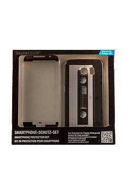Захисний набір для телефону Samsung Galaxy S6 Silver Crest