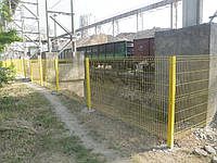 """Забор из сварной сетки """"Рубеж"""""""