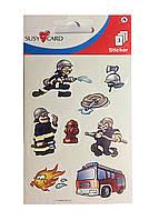 """Наклейки детские """"Пожарник"""" Susy Card"""